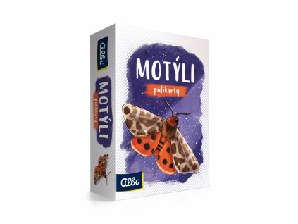 Pidikarty - Motýli