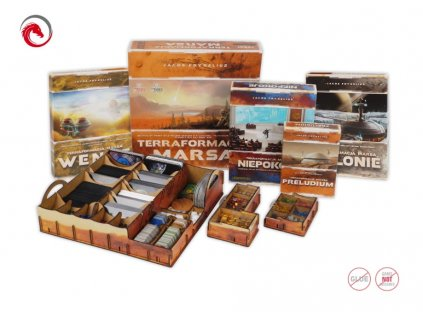 Terraforming Mars with all Expansions (UV Print) Insert