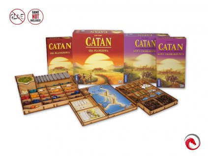 Catan + Traders & Barbarians + 5-6 Players Expansions Insert