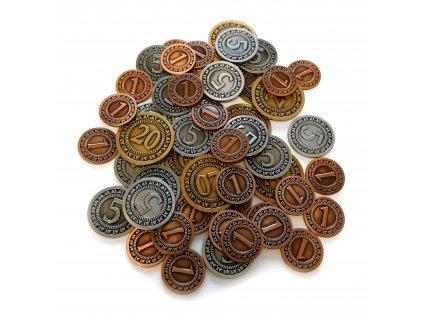 72 1 sada univerzalnich kovovych minci 50 ks