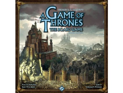 A Game Of Thrones The Board  Game: Second Edition