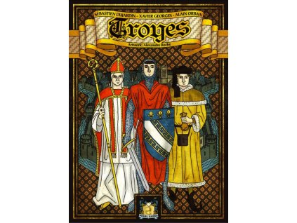 Troyes  + bonusové karty
