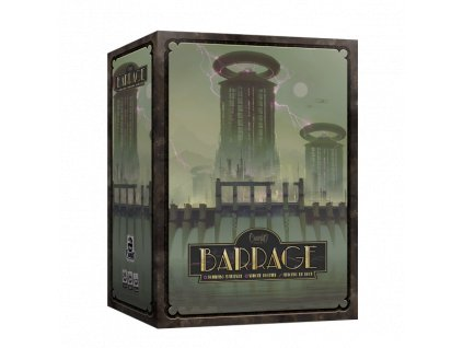 barrage core scatola3D