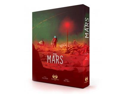 On Mars CZ/EN  (anglicky + čeština navíc + promo karta Beacon)
