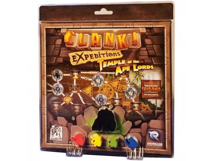 Clank Expeditions Temple of the Ape Lords Expansion Set Box