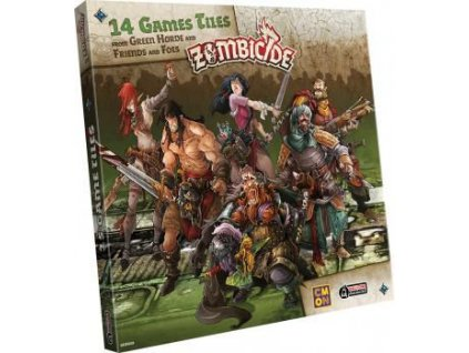 Zombicide: Green Horde - Extra Tiles  Zombicide: Black Pleague - Extra Tiles