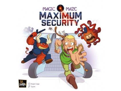 Magic Maze: Maximum Security Expansion  (Hrdinové bez záruky rozšíření)