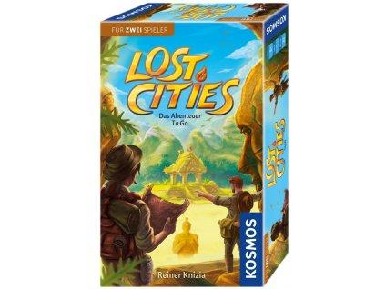 Lost Cities - Mitbringspiel  (Ztracená města, cestovní)