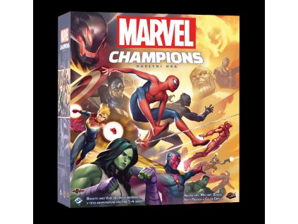 MARVEL Champions vizualizace