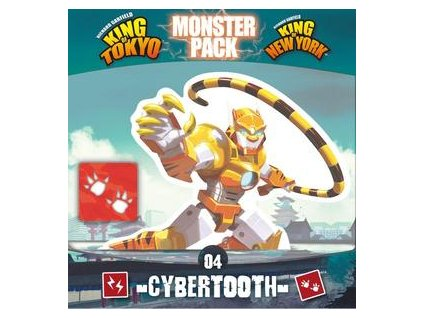 King of Tokyo: Monster Pack - Cyber tooth  (kompatibilní s King of New York)