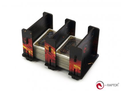 Card Holder - 2S FullPrint Lava  (HDF držák / organizér / pořadač)