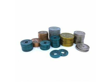 Scythe: Kovové mince