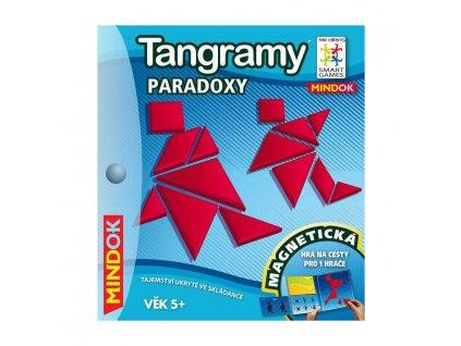 mindok hra smart tangramy paradox cestovni skladacka hlavolamy magnetiske