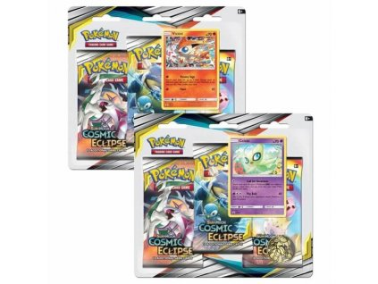 Pokémon: Sun and Moon 12: Cosmic Eclipse - 3 Pack Blister