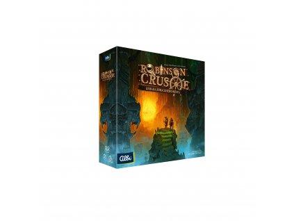 Robinson Crusoe Zahada ztraceneho mesta krabice