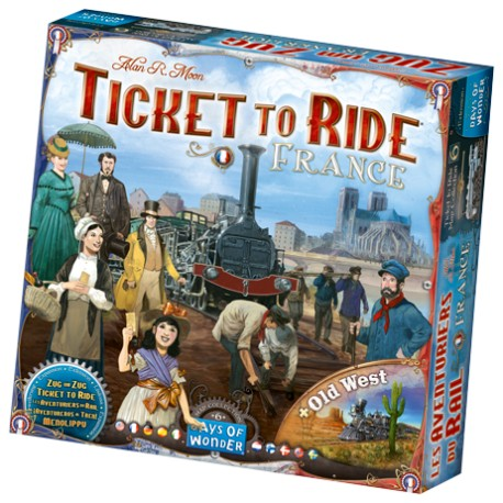 Days of Wonder Ticket to Ride - France & Old West: Map Collection 6