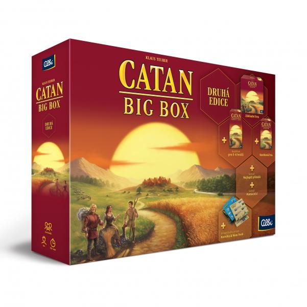 Albi Catan: Big Box (druhá edice)