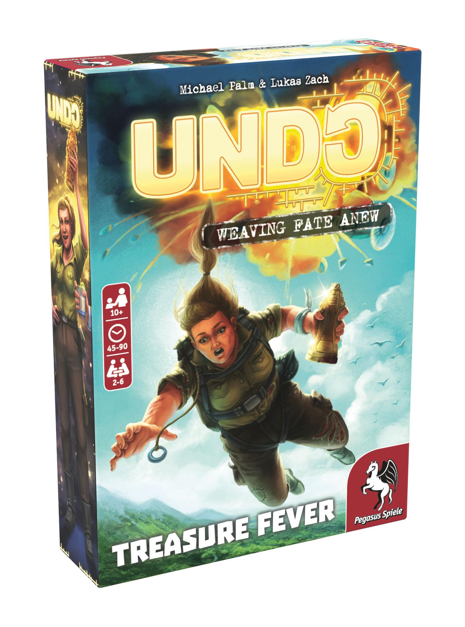 Levně Pegasus Spiele UNDO - Treasure Fever