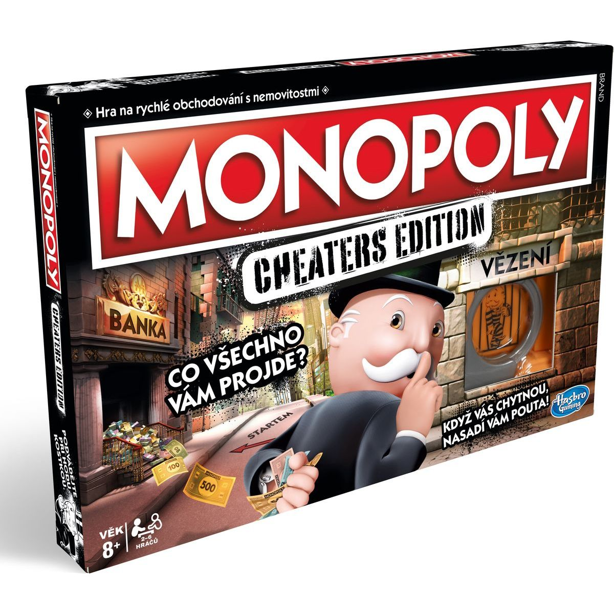 Hasbro Gaming Monopoly Cheaters Edition