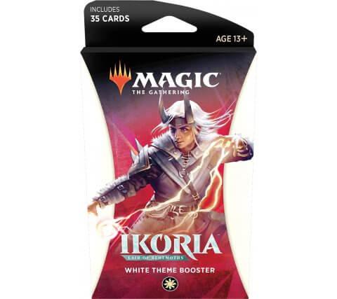 Levně Wizards of the Coast MTG - Ikoria: Lair of Behemoths Theme Booster Varianta: White