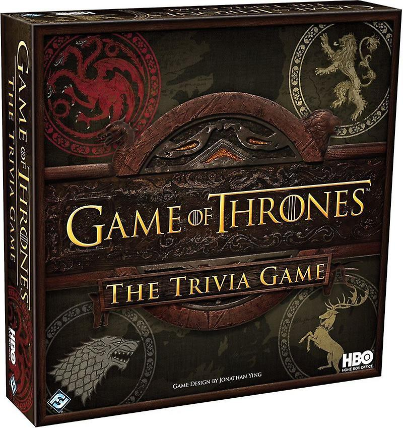 FFG A Game Of Thrones The Trivia Game