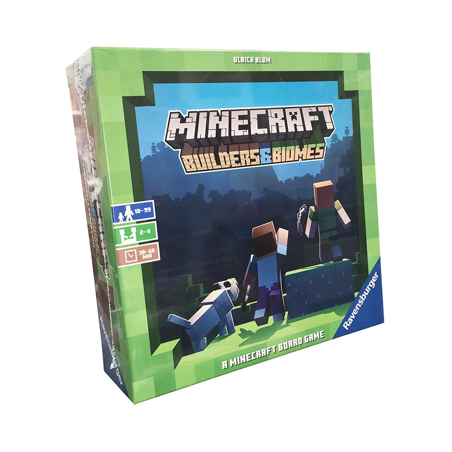 Ravensburger Minecraft: Builders & Biomes EN