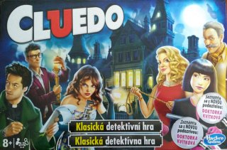 Hasbro Gaming Cluedo EN
