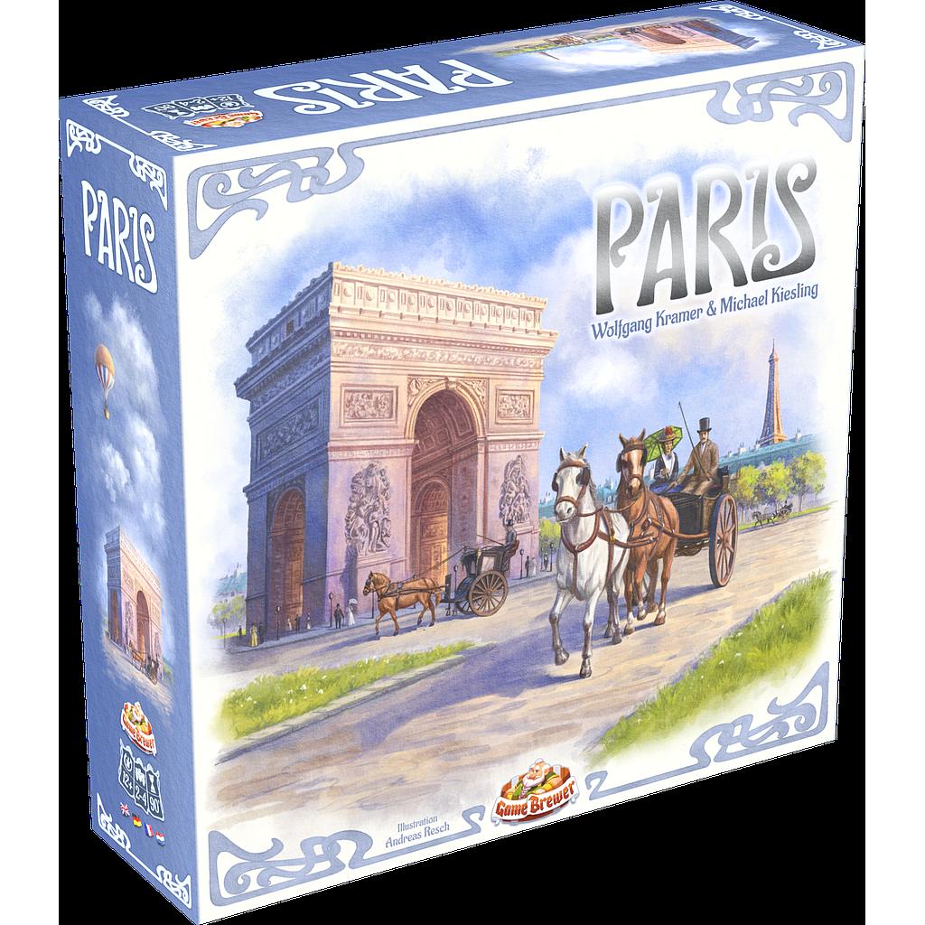 Game Brewer Paris Deluxe EN/DE/FR