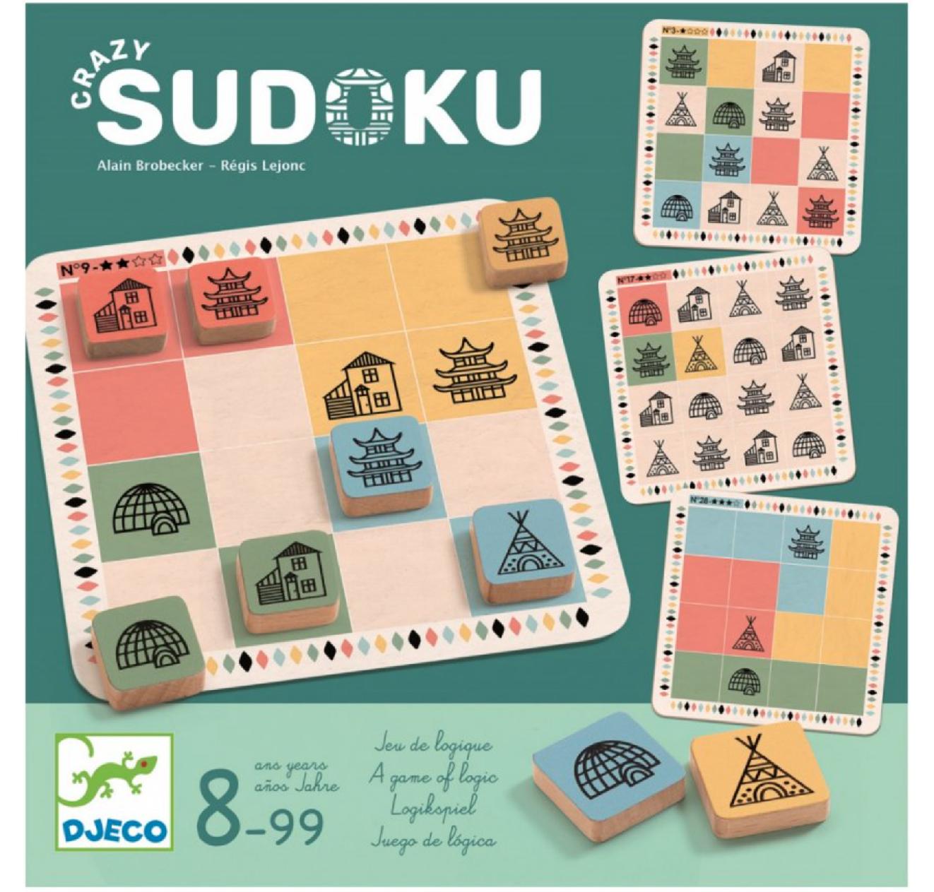 Djeco Bláznivé sudoku (Crazy Sudoku)
