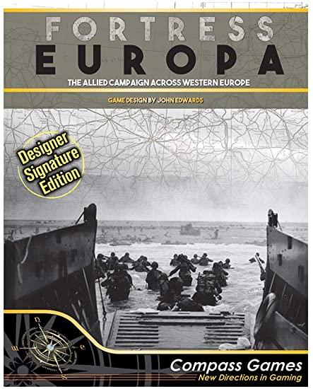 Compass Games Fortress Europa Designer Signature Edition