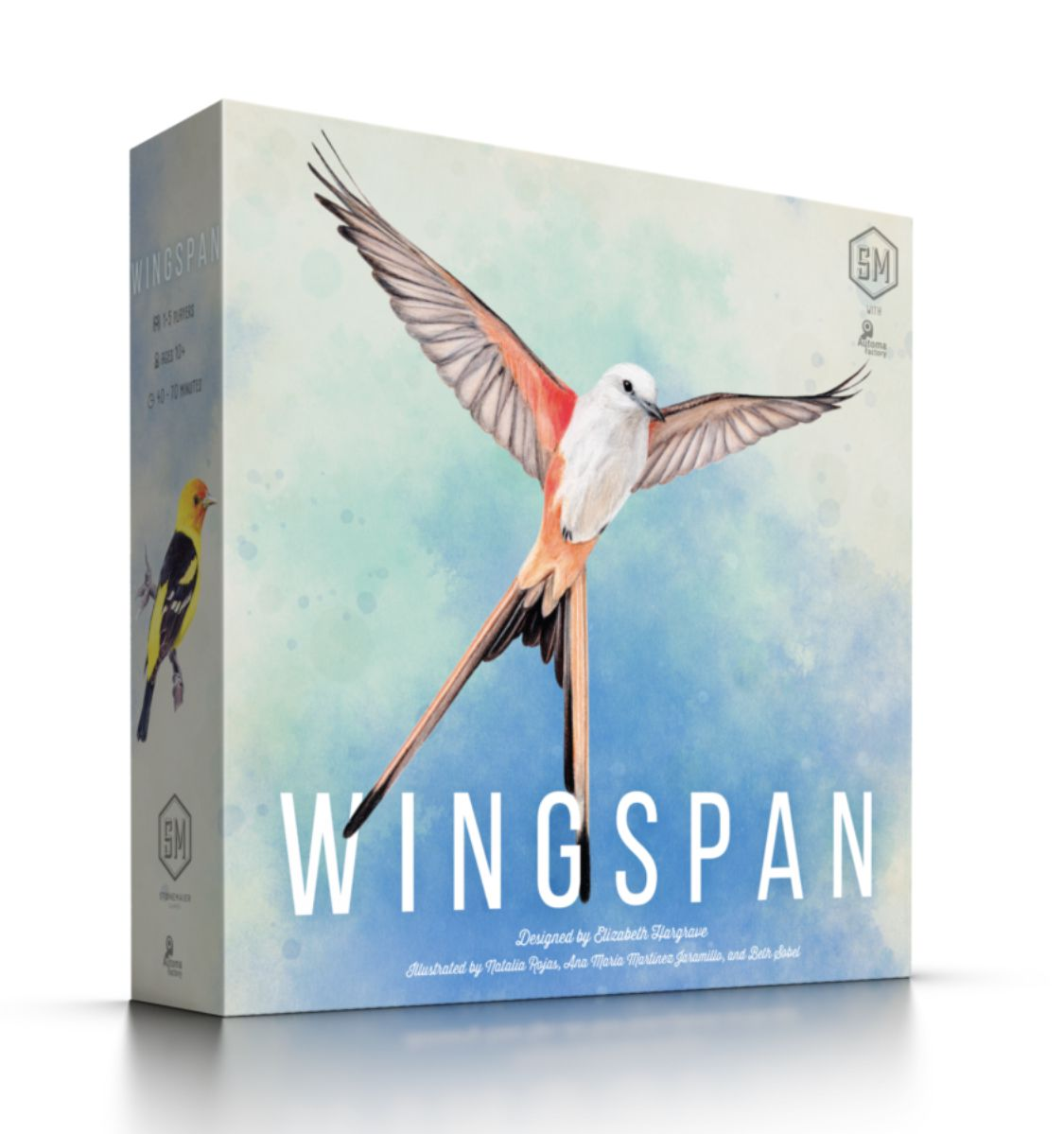 Stonemaier Games Wingspan 2nd Edition (2nd edition incl. Swift-start promo pack)