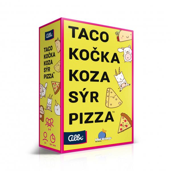 Albi Taco, kočka, koza, sýr, pizza