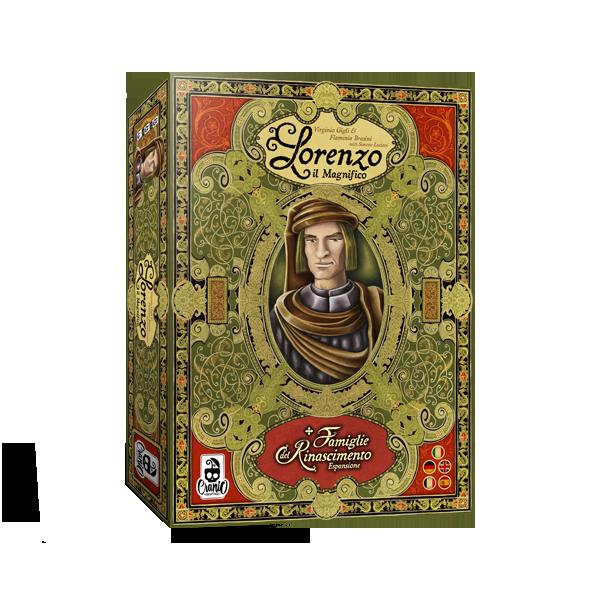 Levně TLAMA games Lorenzo il Magnifico - Big Box CZ/EN/IT/DE/FR/SP