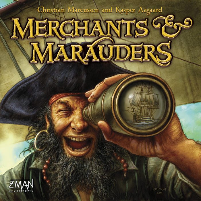 Z-Man Games Merchants and Marauders