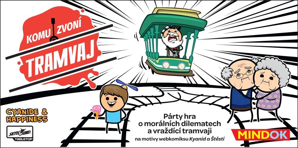 Mindok Komu zvoní tramvaj