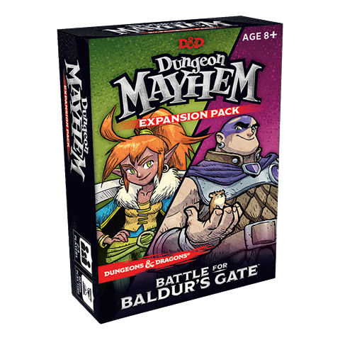 Wizards of the Coast D&D Dungeon Mayhem: Battle for Baldur's Gate