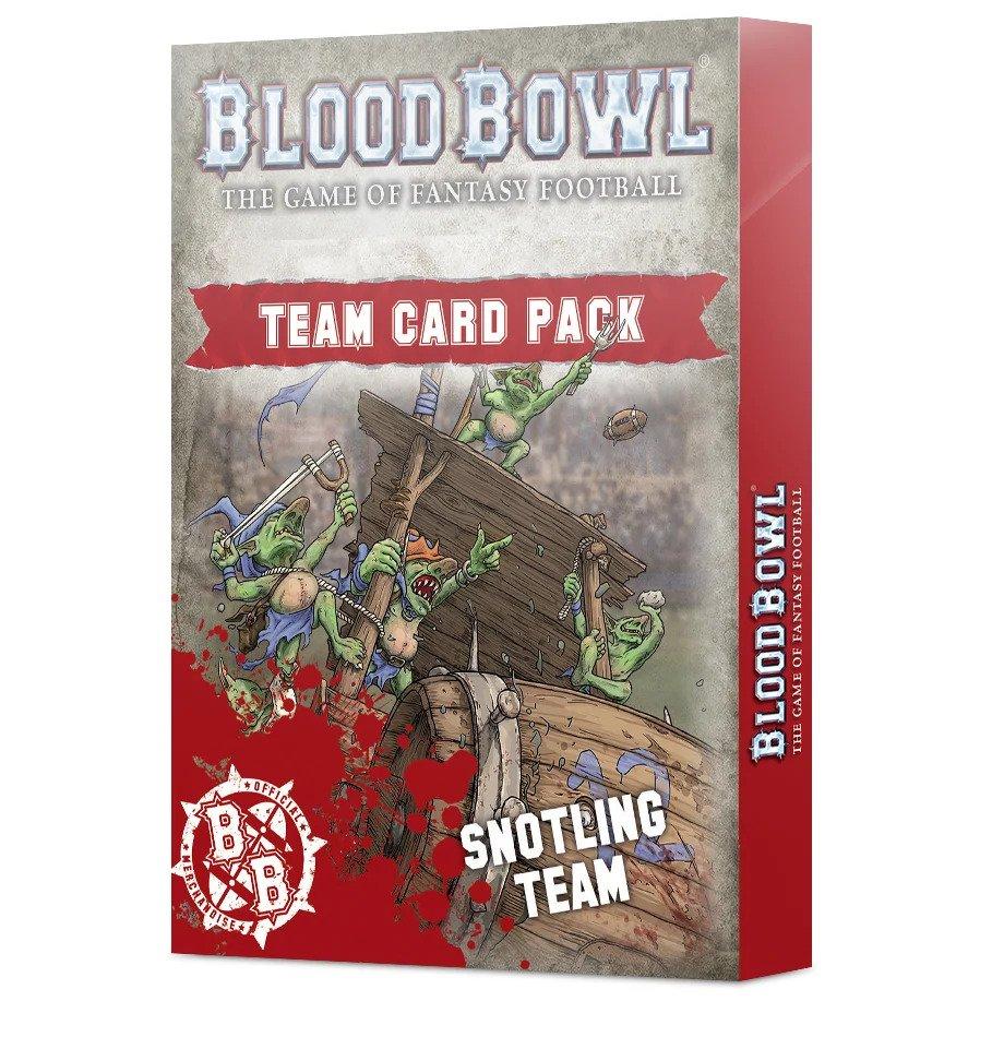 Levně Games Workshop Blood Bowl: Team Card Pack: Snotling Team