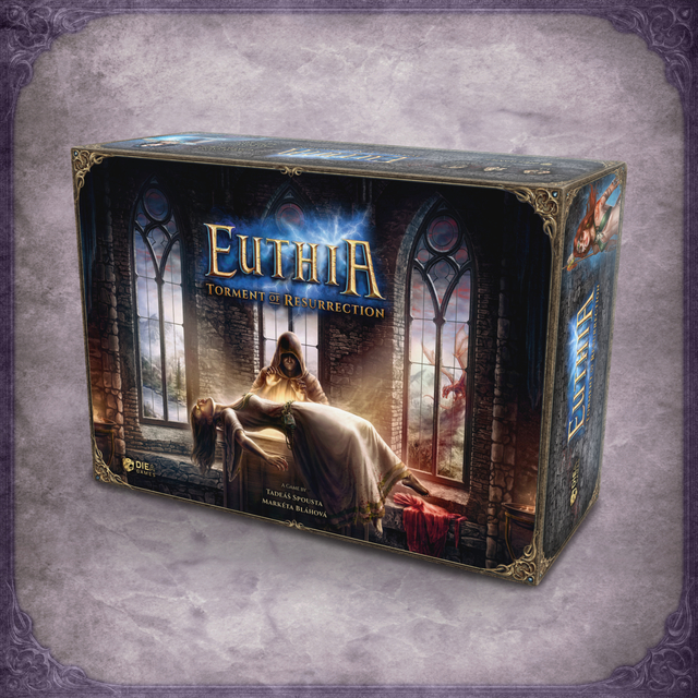 Diea Games Euthia: Torment of Resurrection - Kickstarter Core box pledge CZ