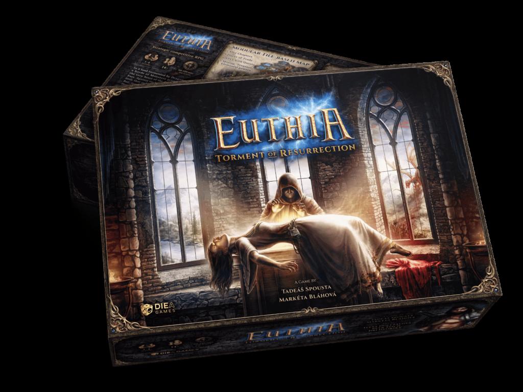 Diea Games Euthia: Torment of Resurrection - Kickstarter Core box miniature pledge CZ