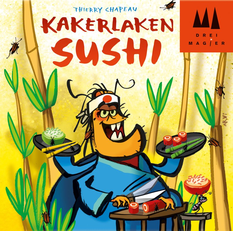 Levně Drei Magier Spiele Kakerlaken Sushi
