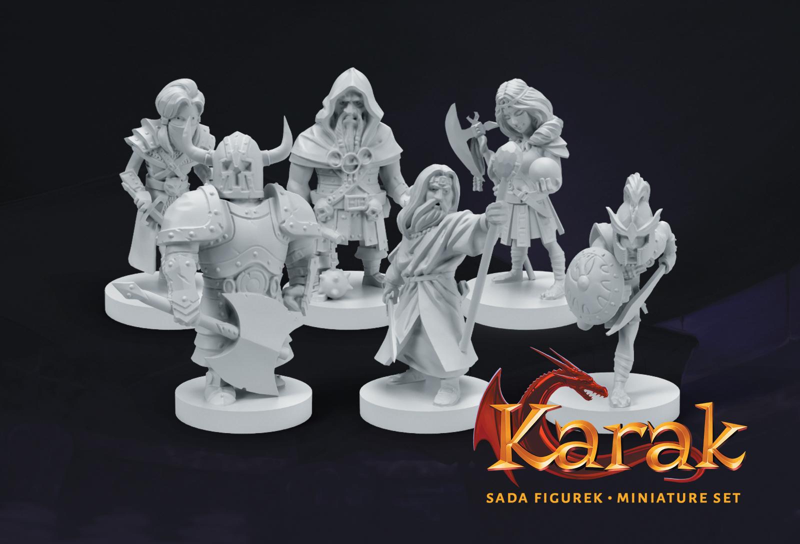Albi Karak - plastové figurky