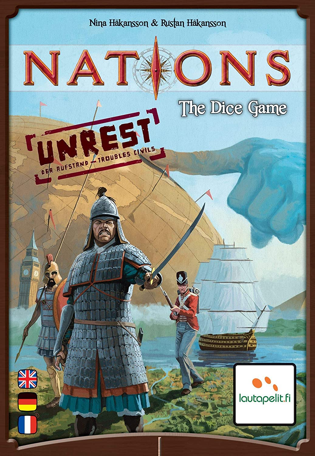 Lautapelit.fi Nations - The Dice Game: Unrest