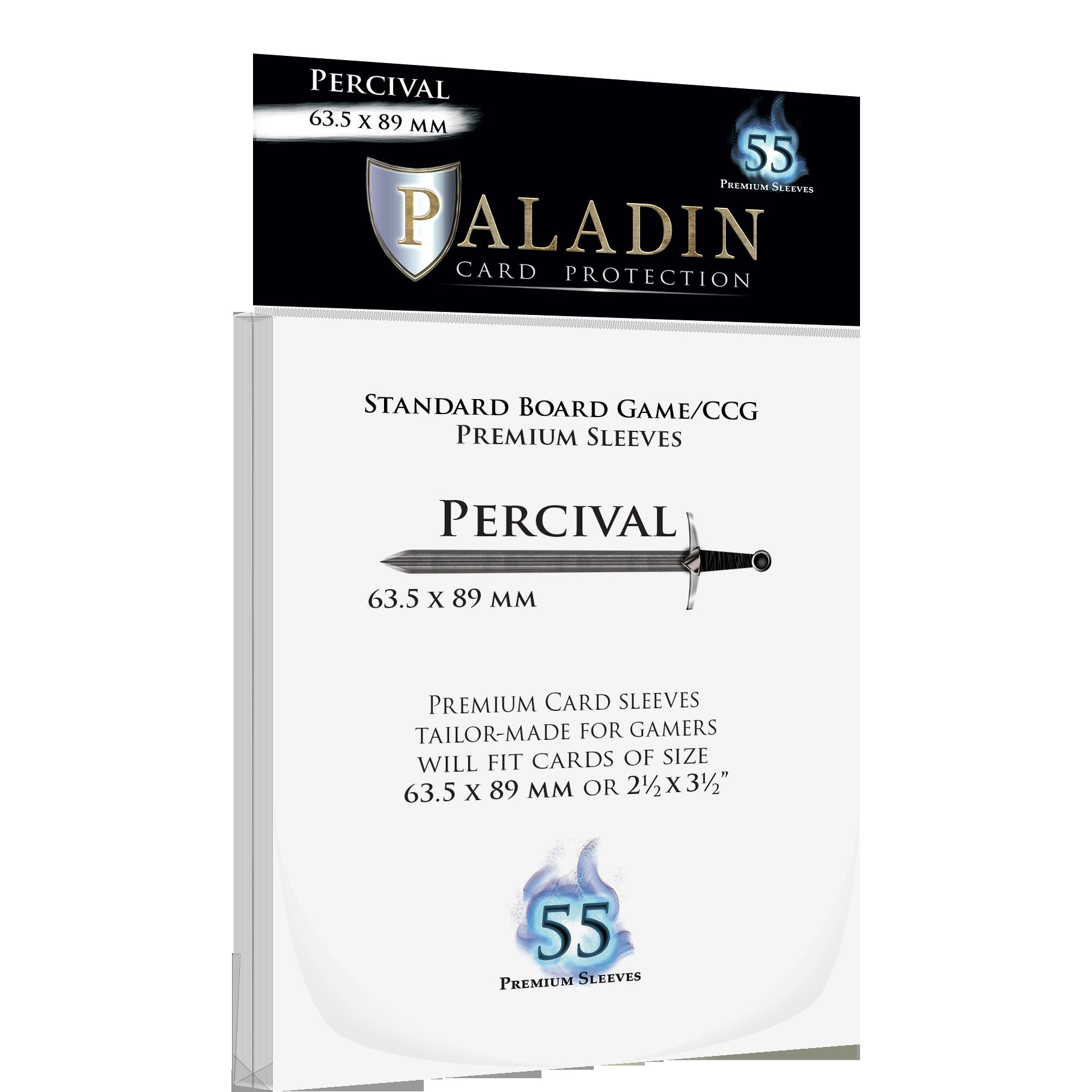 Board&Dice Obaly na karty Paladin: Percival (63,5x89mm) 55 ks