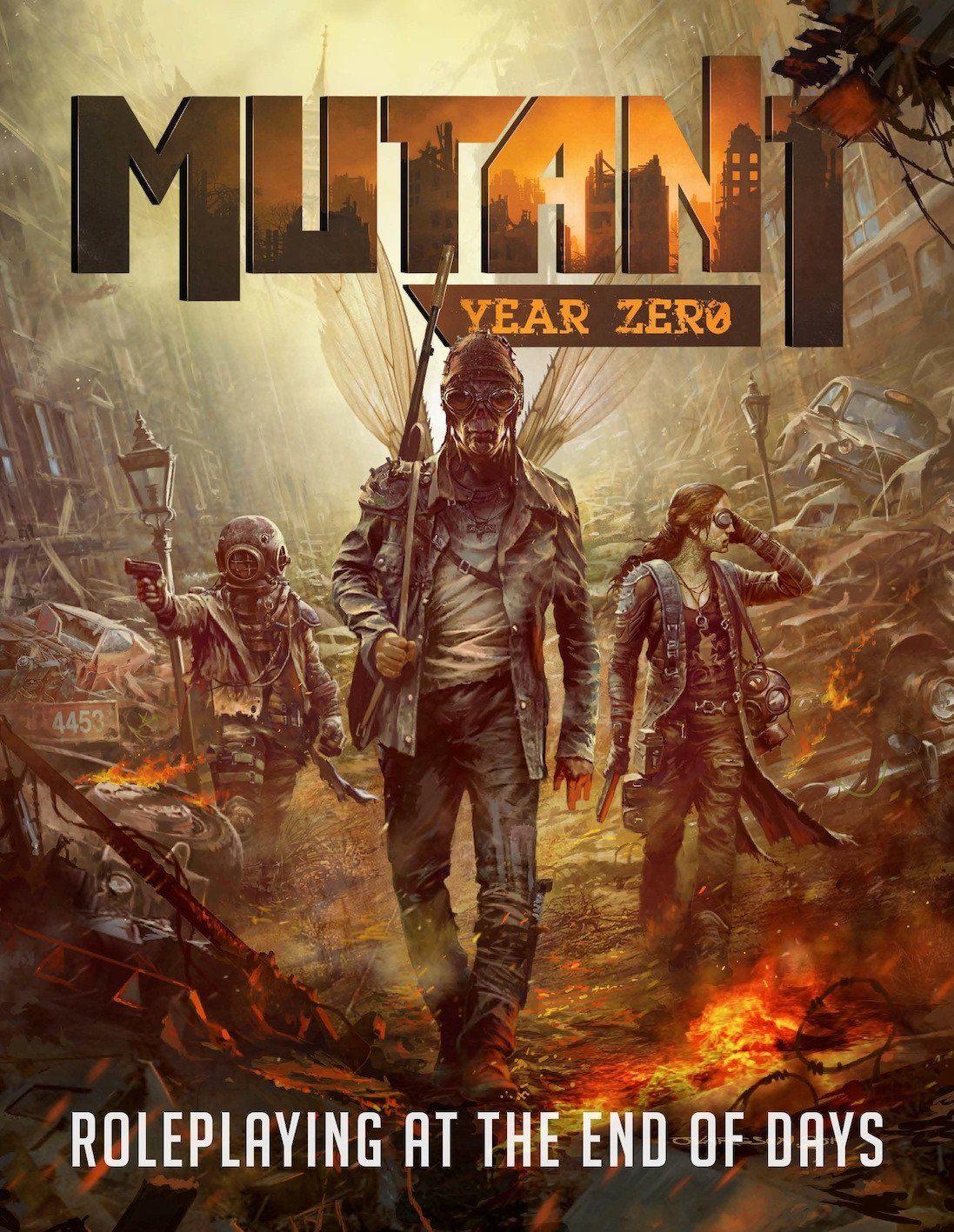 Levně Modiphius Entertainment Mutant: Year Zero CoreBook