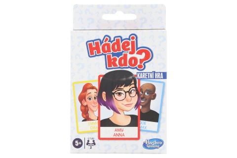Hasbro Gaming Hádej kdo? karetní hra