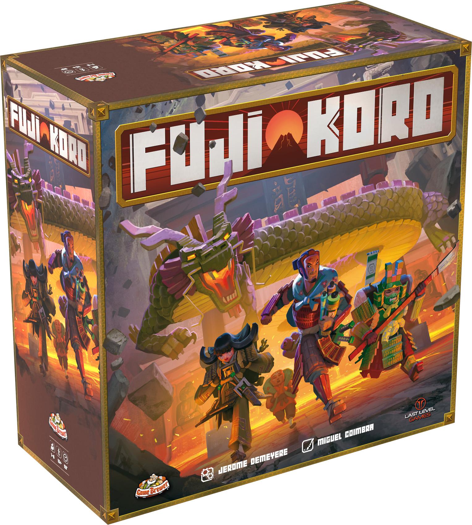 TLAMA games Fuji Koro (CZ+ENG)