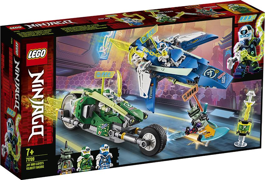 LEGO Rychlá jízda s Jayem a Lloydem 71709