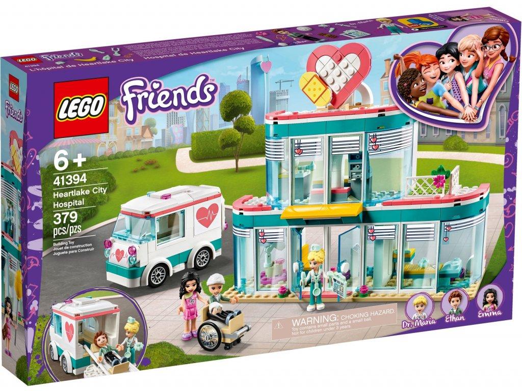 Levně LEGO Nemocnice městečka Heartlake 41394