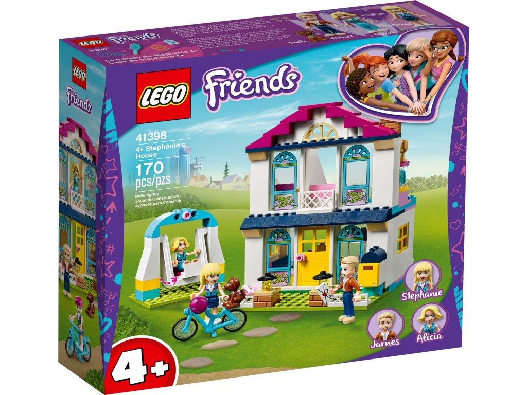 LEGO Stephanie a její dům 41398