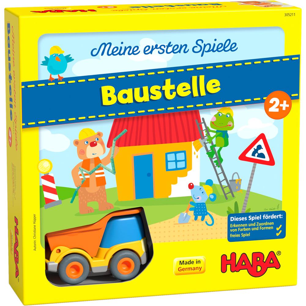 Haba Moje první hra: Na stavbě Meine erste Spiele: Baustelle